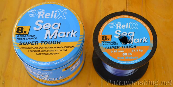 Relix Sea Mark fishing line